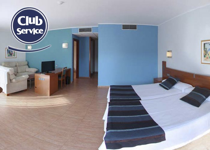 Double premium piramide hotel salou