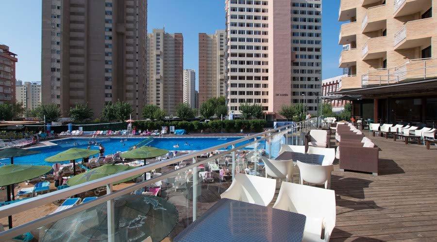 Medplaya hotel rio park in benidorm alicante costa blanca - Hotel asiatico benidorm ...