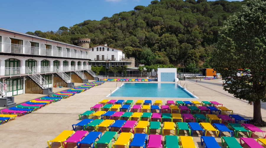 San eloy pool apartment tossa de mar
