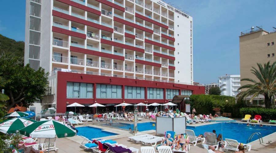 View Balcony Hotel Calella Exterior Santa Monica
