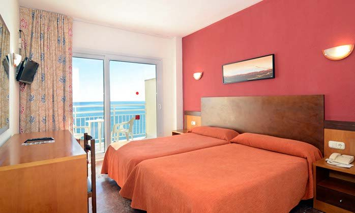 Full sea view double hotel benalmadena costa