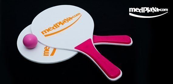 medplaya - amigo card - beach paddles