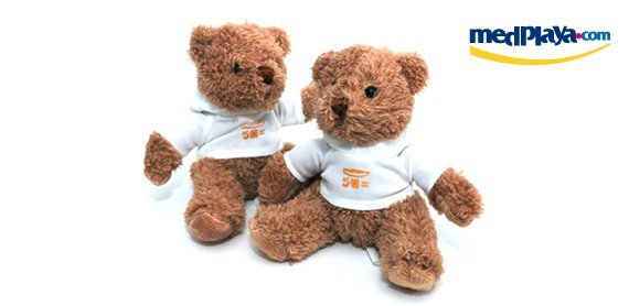 medplaya - amigo card - plush teddy